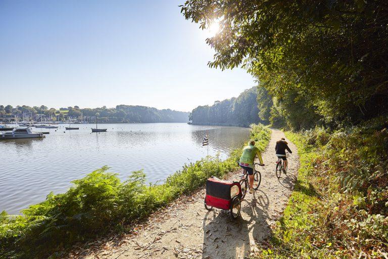 Vélo le long de la rance, Côtes d'Armor