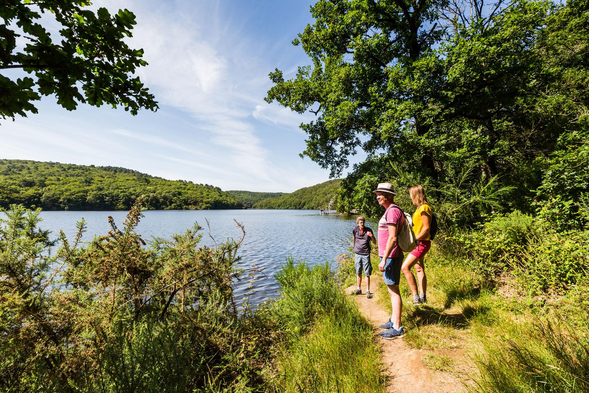 Tour du lac de Guerlédan à pied, Côtes d'Armor