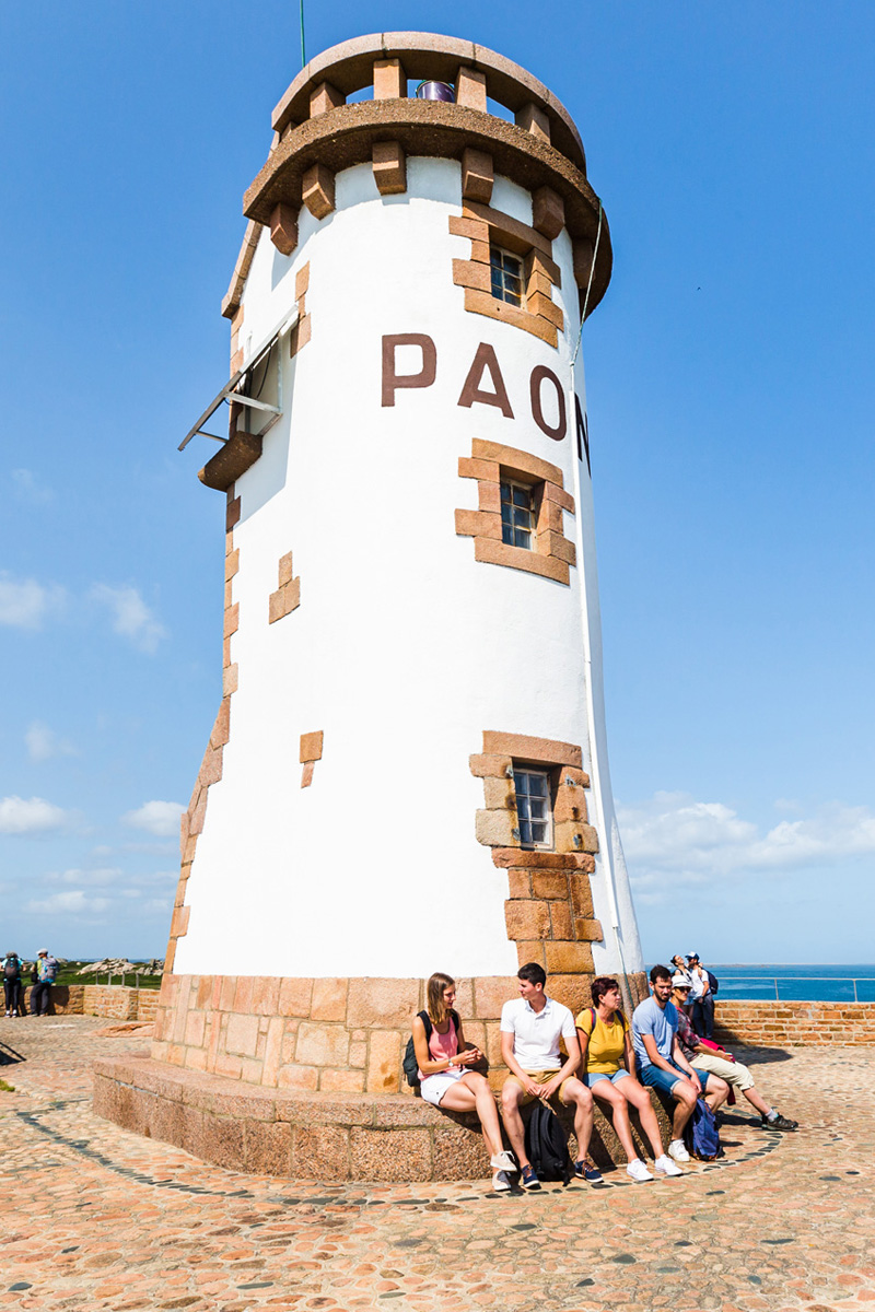Phare du Paon, île de Bréhat