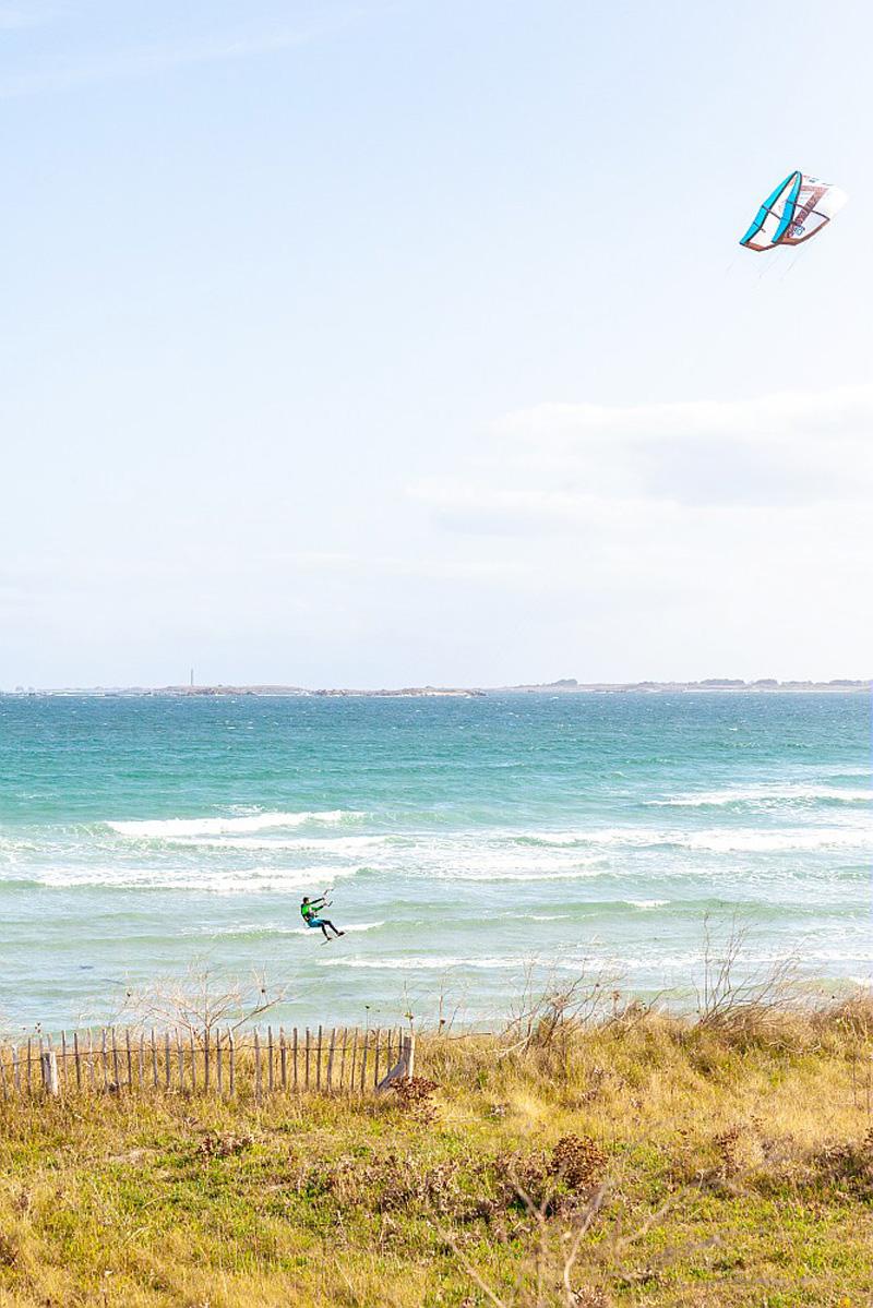 Kitesurf, Bretagne
