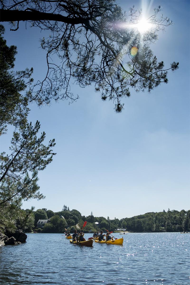 Kayak, Guerledan
