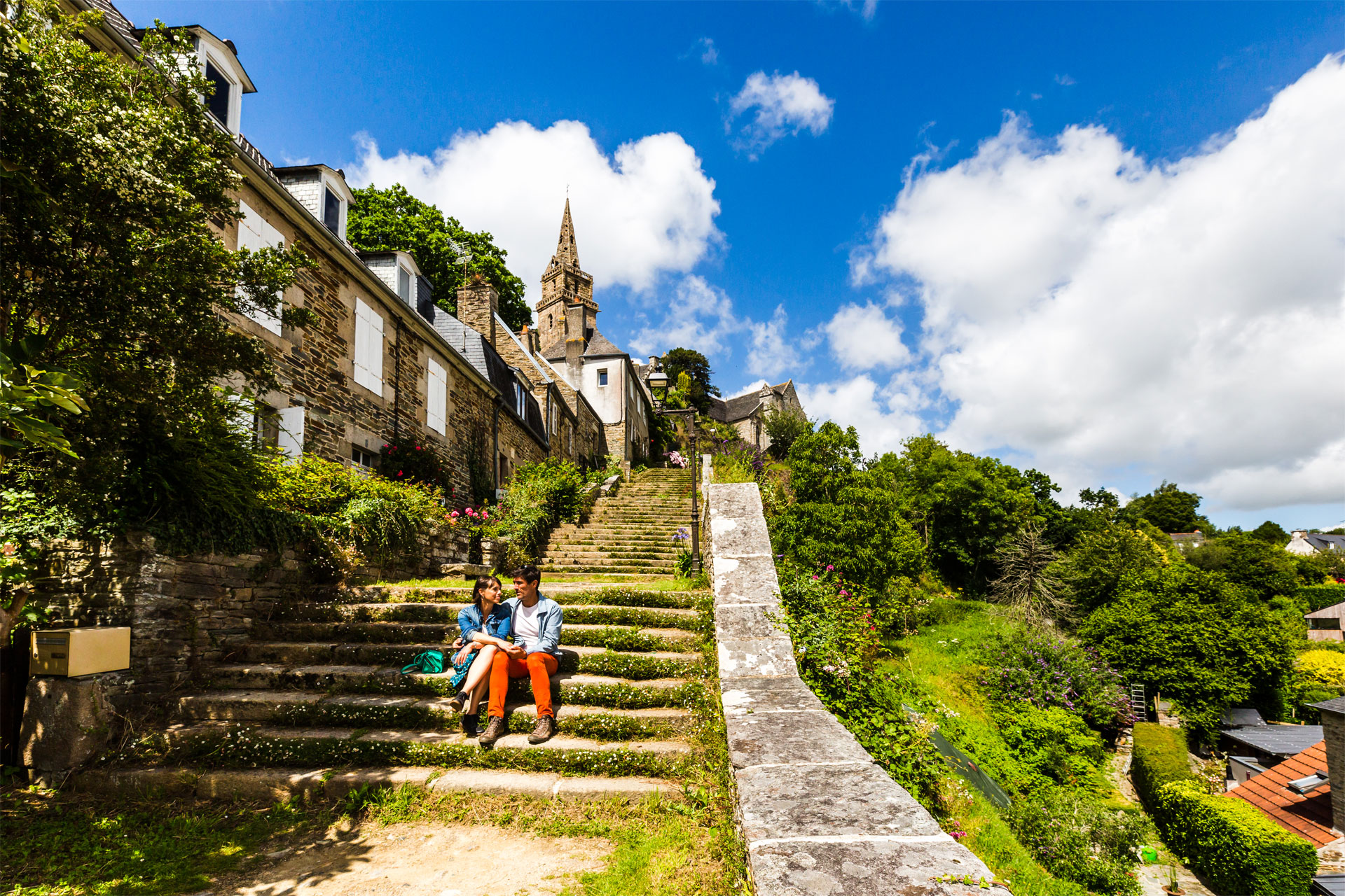 Escalier du Brelevenez, Lannion