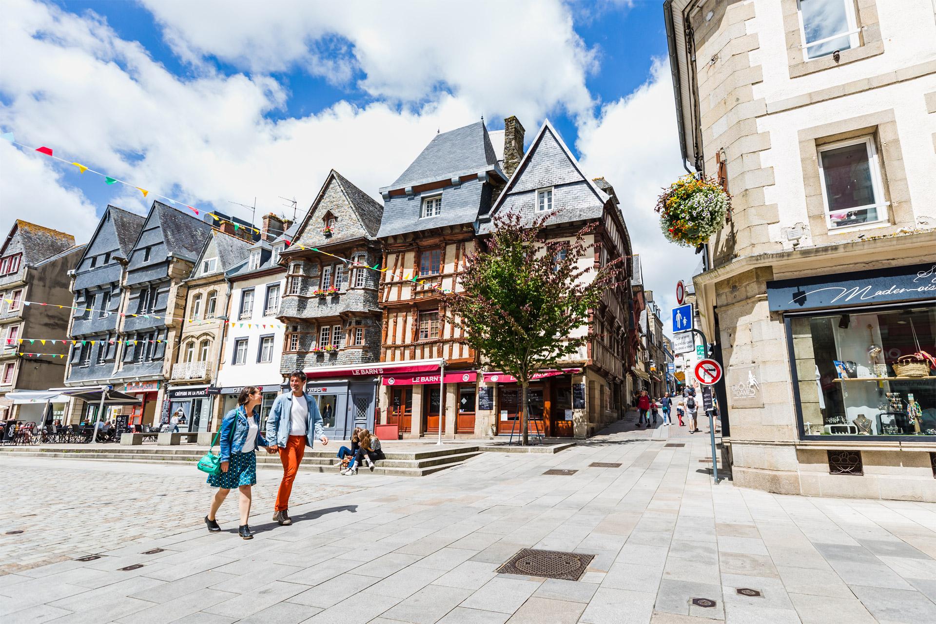 Place Leclerc, Lannion