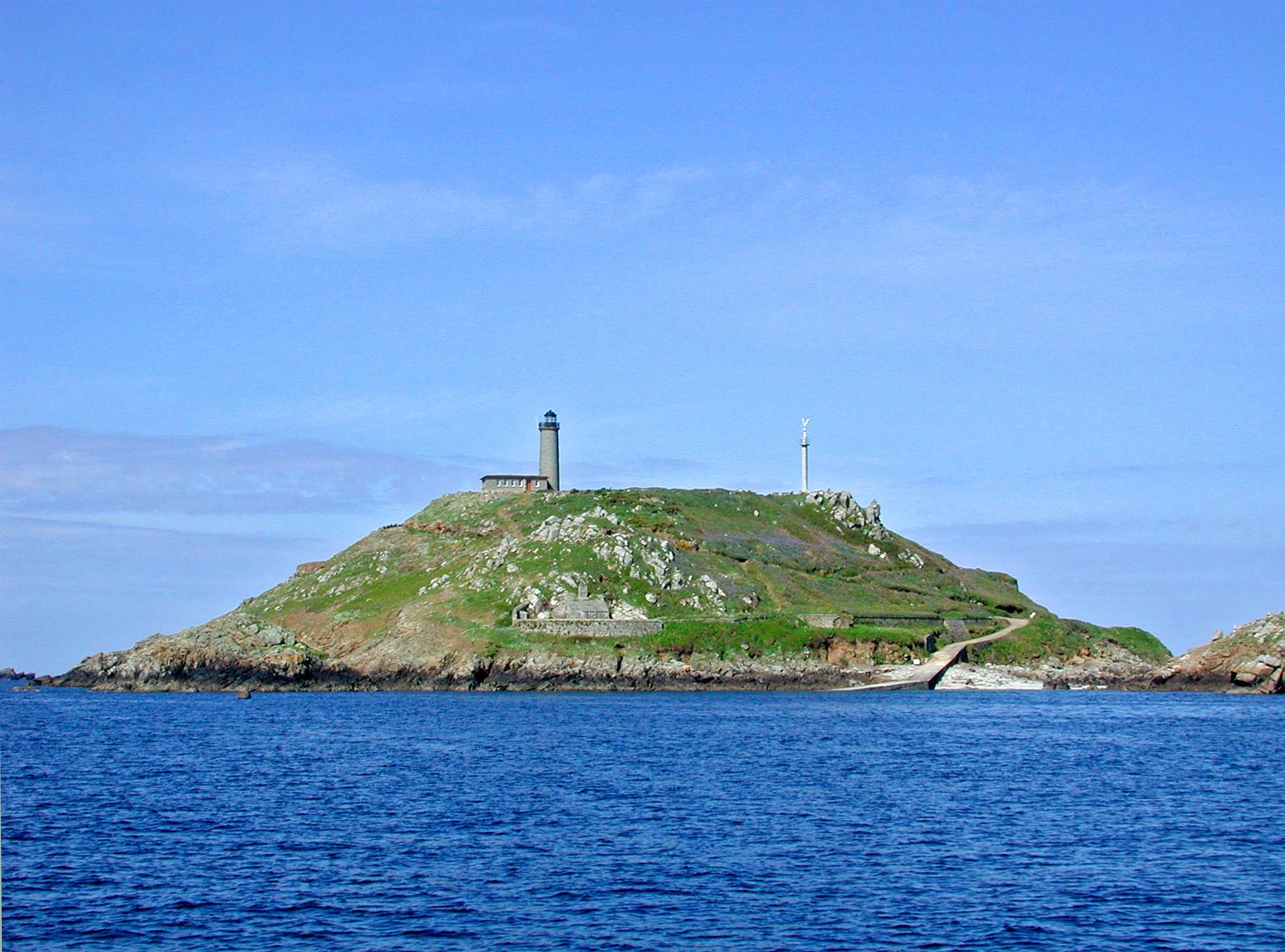 Lîle aux moines, archipel des 7 îles