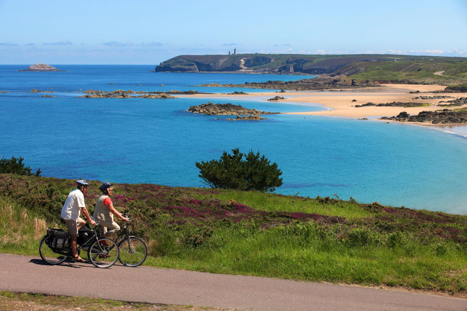 Vélo vers le Cap Fréhel, Côtes d'Armor