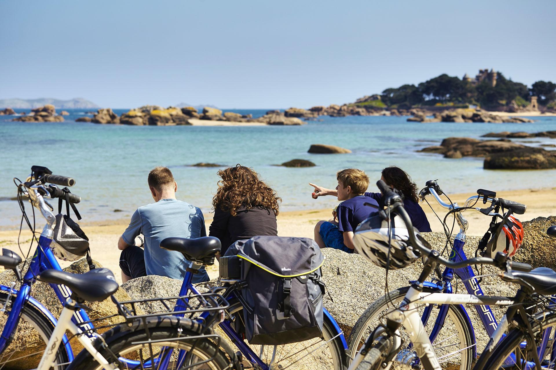 Vélo à Trégastel