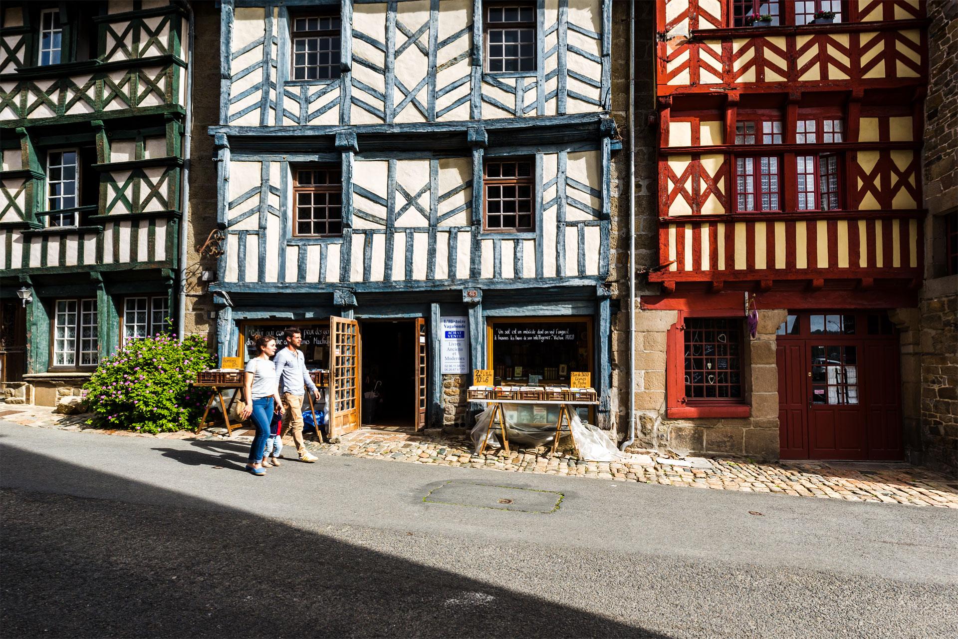 Maisons à colombages, Tréguier
