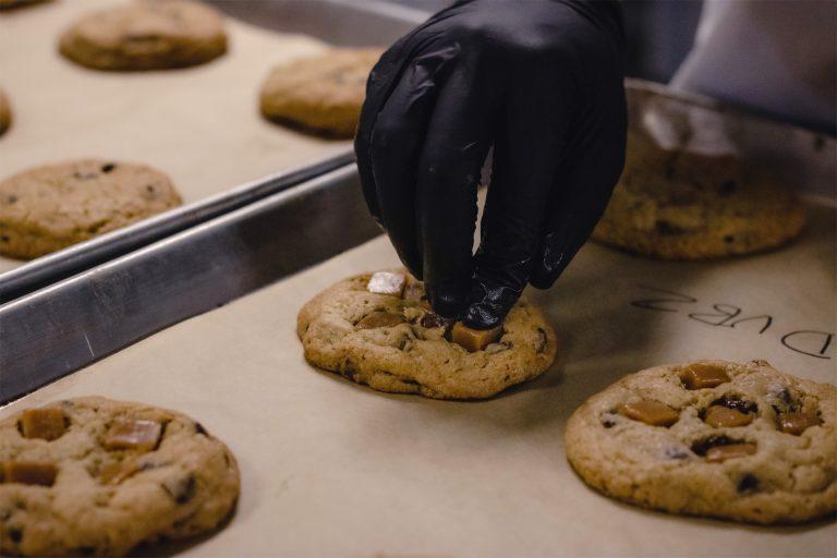 Préparation de cookies