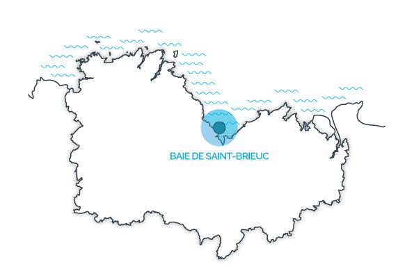 Baie de St-Brieuc, Côtes d'Armor