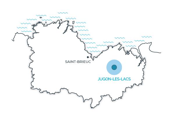 Jugon-les-lacs, Côtes d'Armor