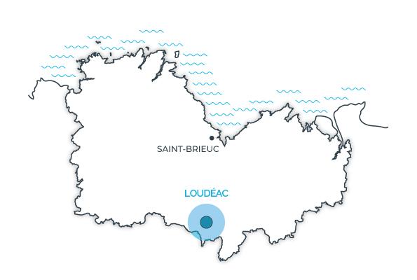 Loudéac, Côtes d'Armor