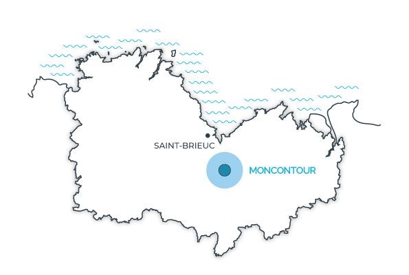 Moncontour, Côtes d'Armor