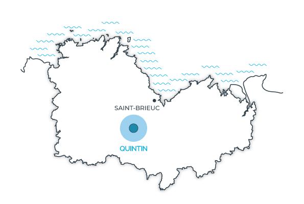 Quintin, Côtes d'Armor