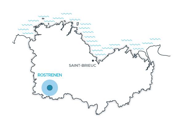 Rostrenen, Côtes d'Armor