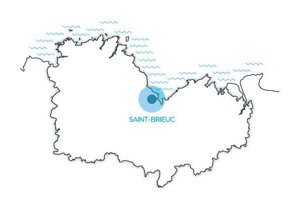 Saint-Brieuc, Côtes d'Armor