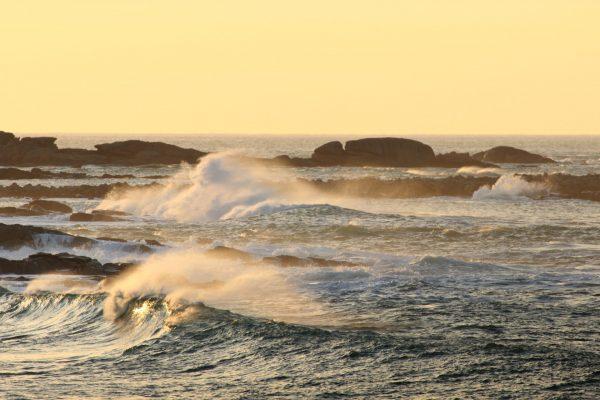 Vagues île Grande, Pleumeur-Bodou