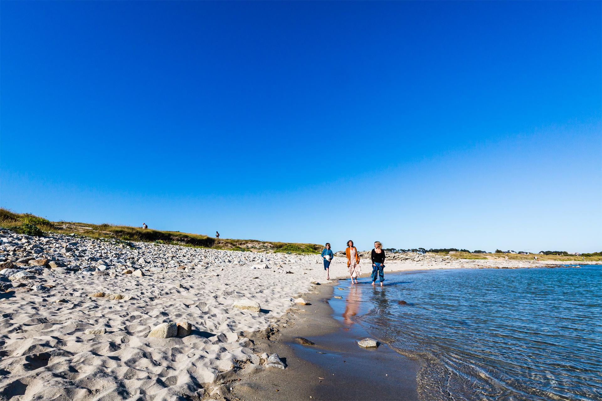Plage île grnade, Pleumeur-Bodou