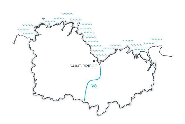 Carte V8, Côtes d'Armor