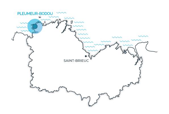 Pleumeur-bodou, Côtes d'Armor