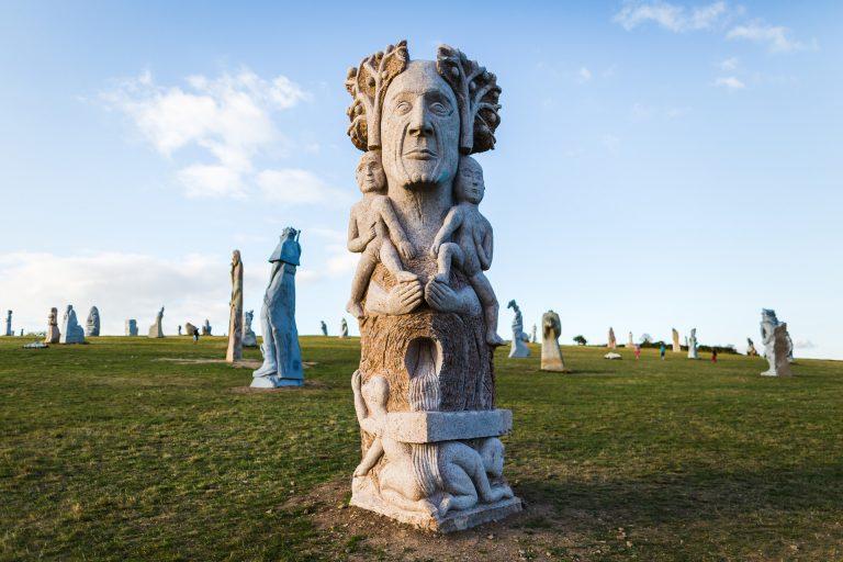 Statues de la Vallées des Saints, Carnoët
