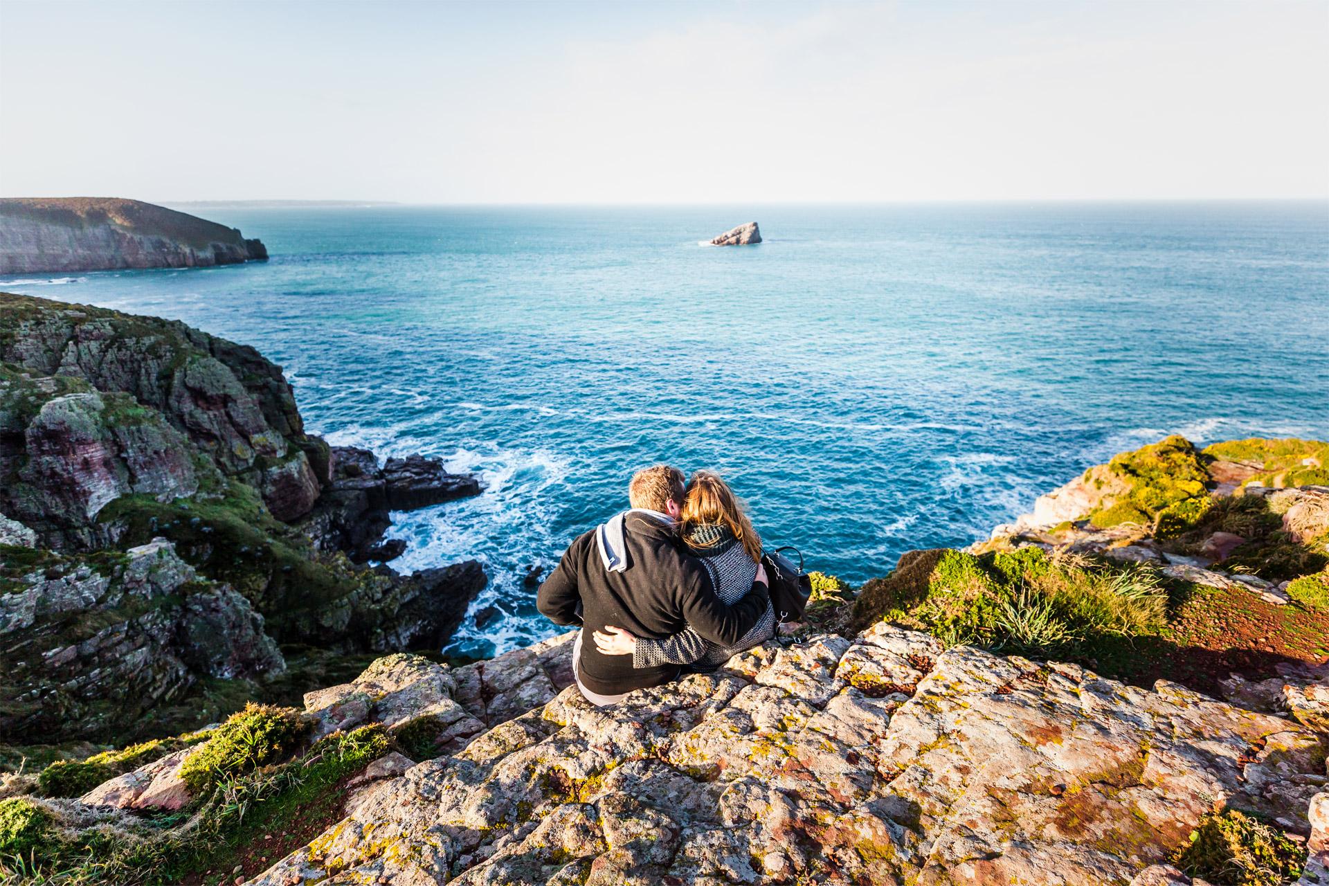 Couple au Cap Fréhel, Plévenon